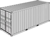 20' Pallet Wide High Cube (14 Europalets)