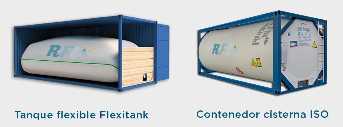 Transporte de vino a granel RFL Cargo