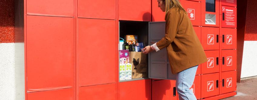Las taquillas inteligentes van ligadas al aumento del e-commerce